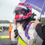 Tasmin Pepper on Starting Grid for W Series