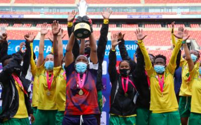 Banyana Clinch Fourth Successive COSAFA Women's Champs Title