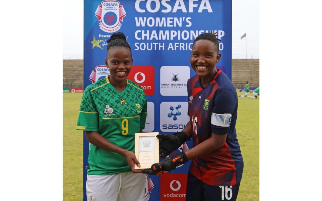 Banyana Banyana and Bantwana Earn Victories at COSAFA Champs