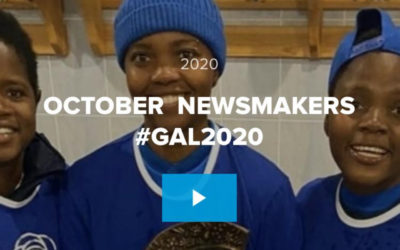 Saluting #GAL2020 October Newsmakers