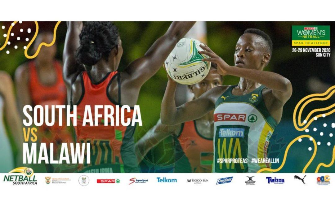 SPAR Proteas to Battle Malawi Queens