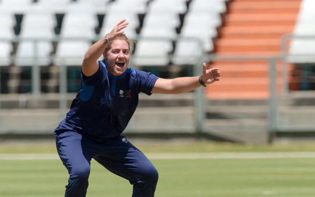 The competition involved four teams chosen by Virtual Draft, and brought together all the country's top female players for a full round of fixtures. Photo: CSA