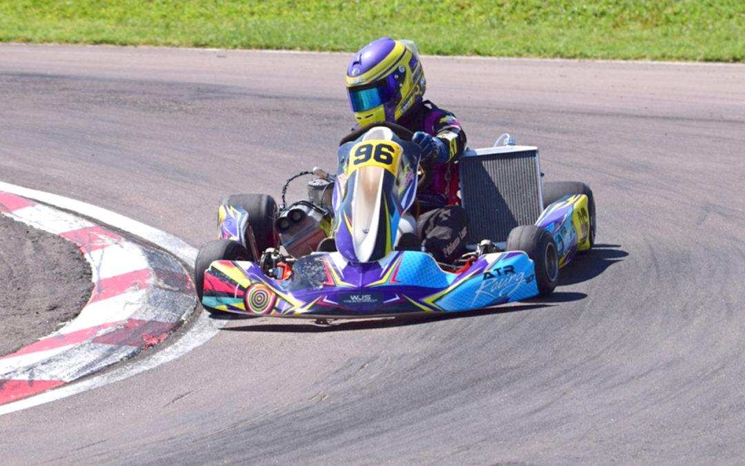 Lanz Crowned KZ2 Champion at Zwartkops Int Circuit