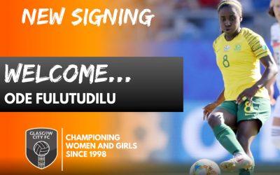 Ode Fulutudilu Signed by Glasgow City FC