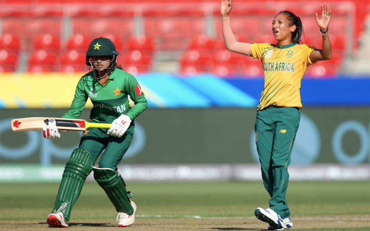 Photo caption: A file photo of SA opening bowler Shabnim Ismail pictured in action against Pakistan. Dates and venue details for the inbound Pakistan Women's ODI and T20I tour of South Africa have been confirmed. Photo: Supplied