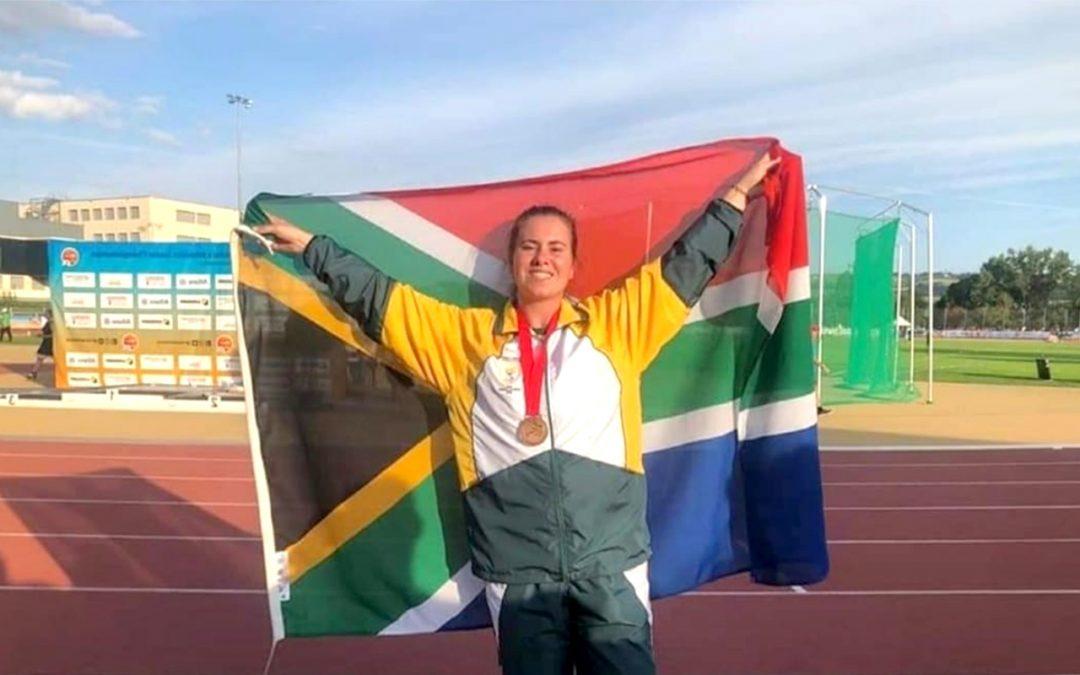 Yané van der Merwe Focusses on Paralympic Participation