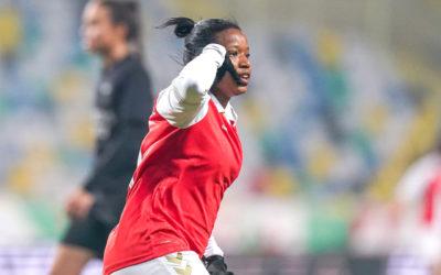 SA Celebrates Seoposenwe's Historic SC Braga Brace