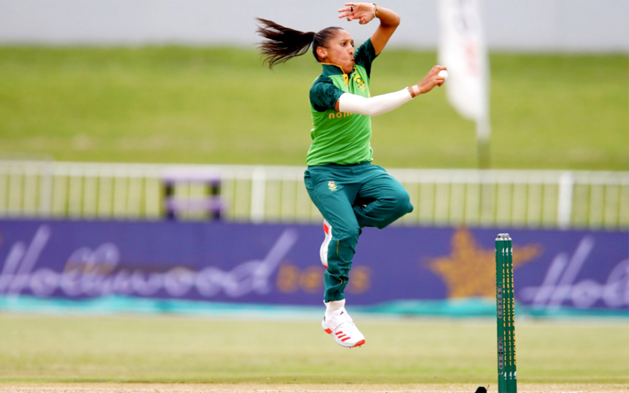 Momentum Proteas' Shabnim Ismail's 3/42 was key in steering the South Africans to victory in their first ODI against Pakistan in Durban on Wednesday, 20 January 2021. Photo: CSA