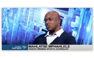 Mahlatse Mphahlele Making His Mark on Women's Sport