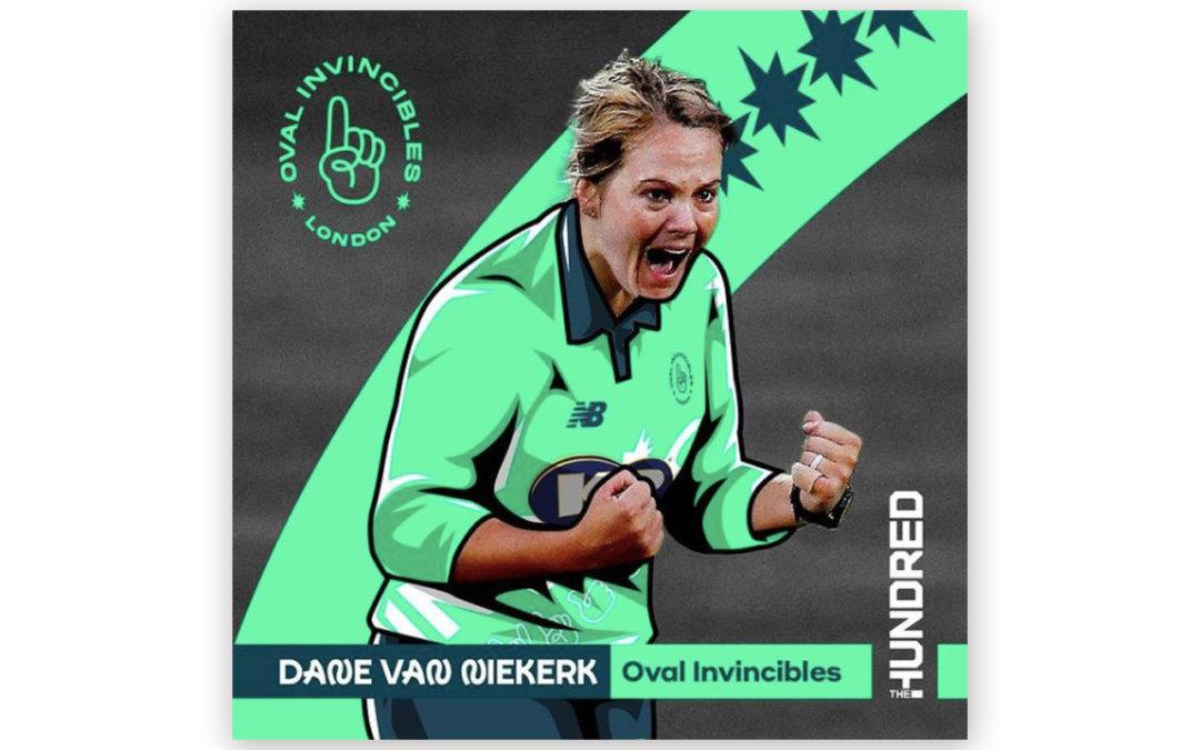 Dané van Niekerk Joins Oval Invincibles for The Hundred