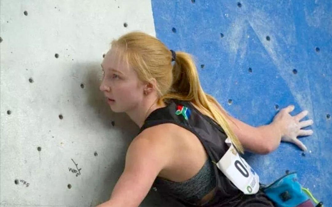 Teen Rock Climber Qualifies for Tokyo Olympics