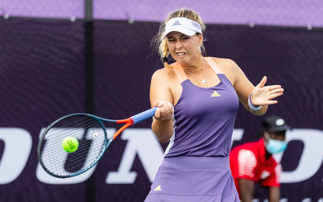 Zoë Kruger Storms into Ilana Kloss Quarter-Finals