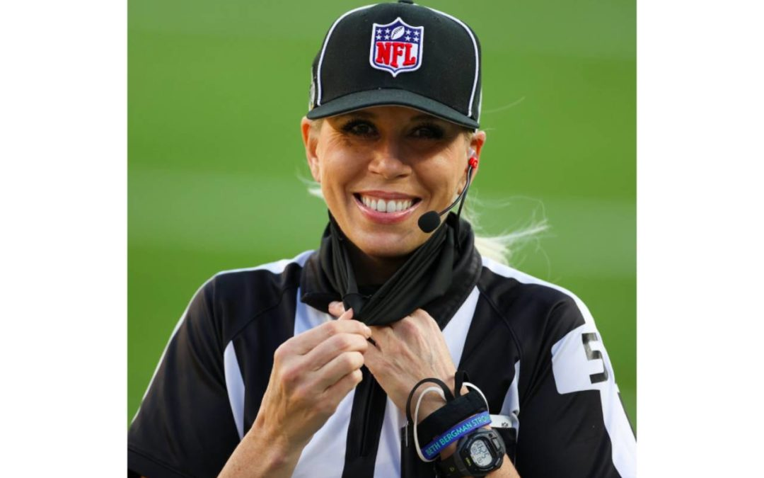 Ground-Breaking Moment as Sarah Thomas Officiates Super Bowl