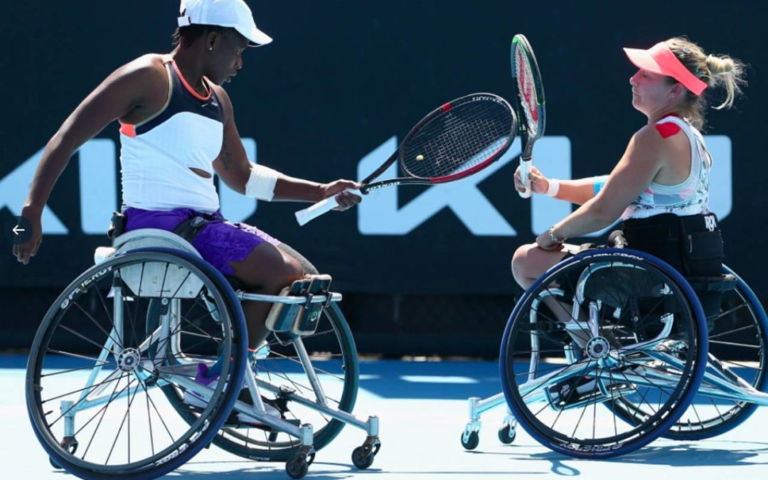 Montjane Draws Positives from Australian Open Doubles Final Defeat