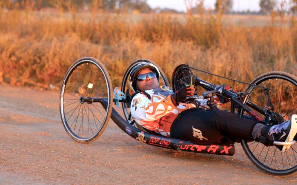 "Palesa ""Deejay"" Manaleng has been selected to represent Cycling SA at three international events. Photo: UJ Sport (Twitter)"
