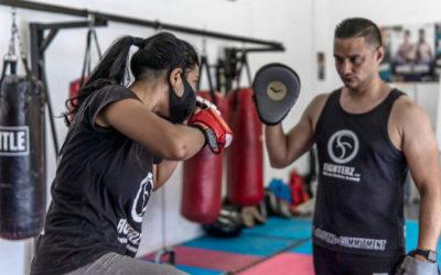 Fidaah Edries Empowering Female MMA Stars