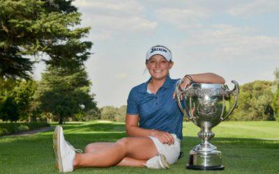 Macnab Defends SA Amateur Title