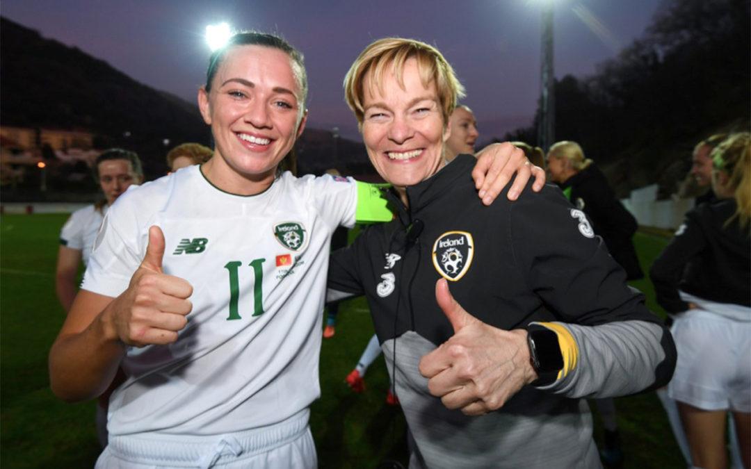 Ireland Football Manager Pauw Plots Historic Quest