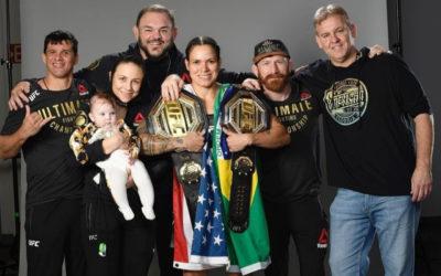 UFC Featherweight Champ Amanda Nunes Remains Undefeated