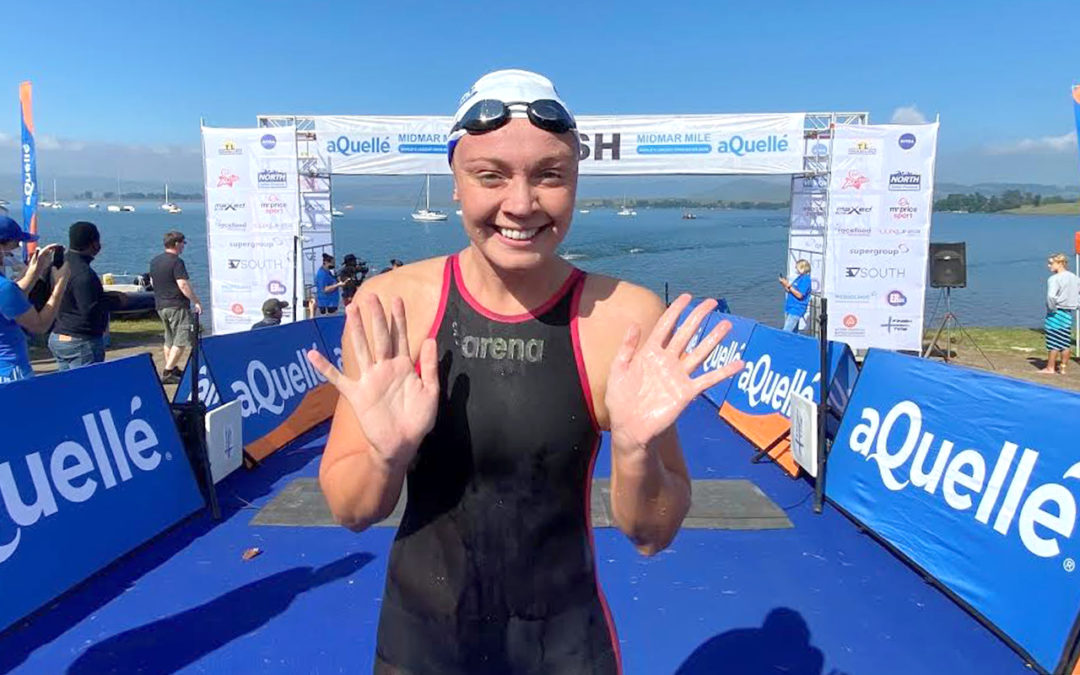 Tokyo Games Hopeful Michelle Weber Doubles Up on Midmar Mile Wins