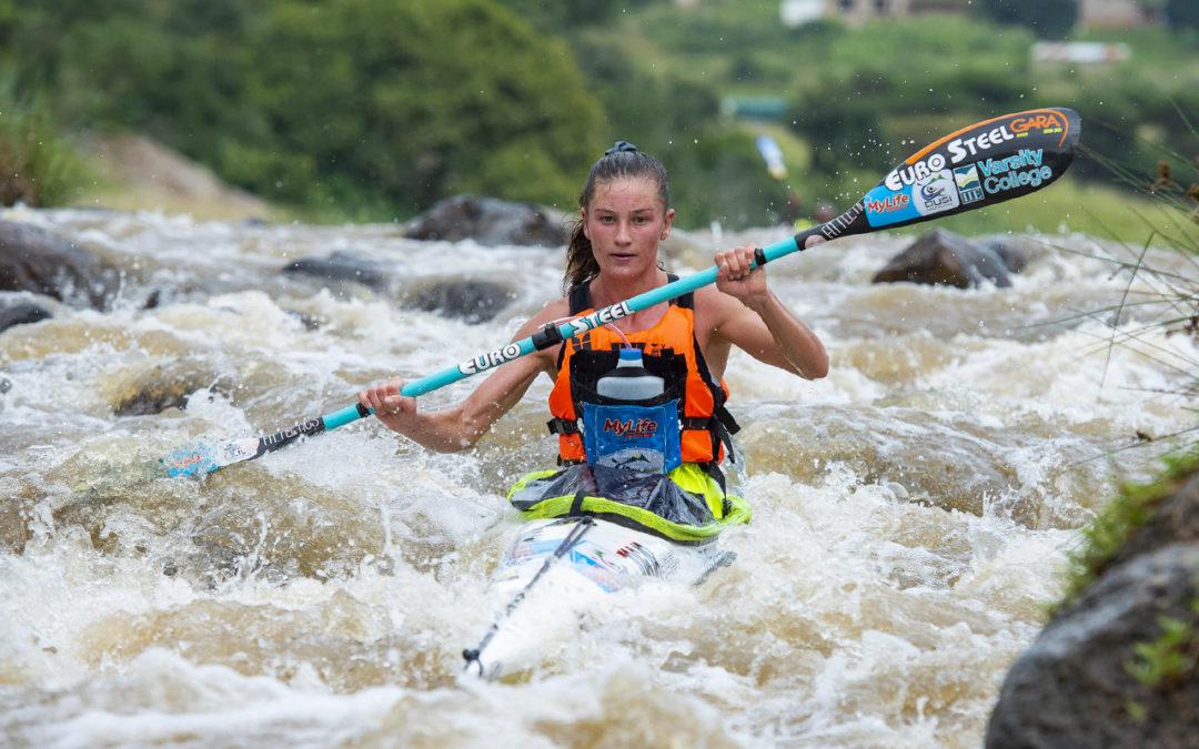 Mackenzie Leads Day One of Dusi Canoe Marathon