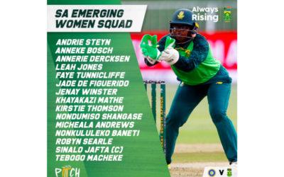 SA Emerging Squad to Tour Bangladesh