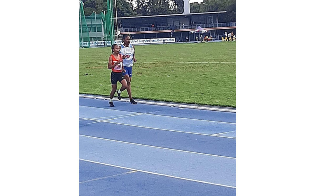 Boxer-backed star athlete, Glenrose Xaba has been in rehabilitation to tend to a calf injury for the past two months and is excited about her performances since joining up with her mentor, double Olympic champion, Caster Semenya. Photo: Rhyn Swanepoel (Boxer Athletics)
