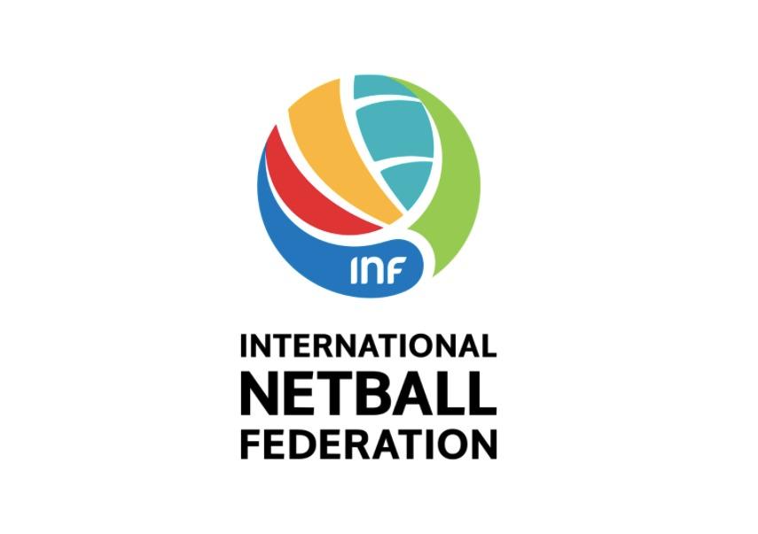 The International Netball Federation logo: Photo: INF
