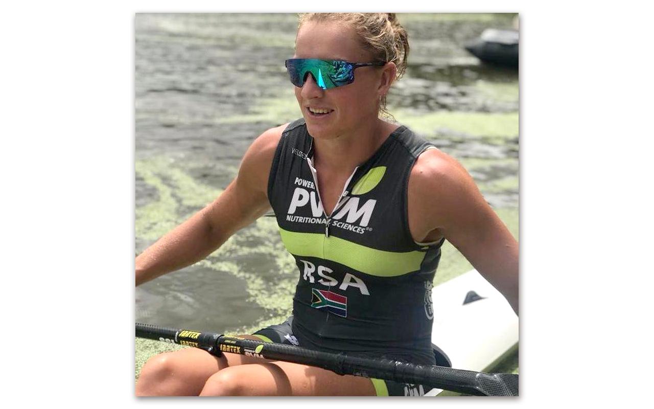 South African sprint kayaker, Esti van Tonder, previously pictured at the 2021 SA Sprint Selection event at Shongweni. Photo: Esti van Tonder (Instagram)