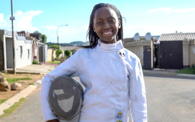 Fencer Nomvula Mbatha Focusses on Olympic Qualifiers in Egypt