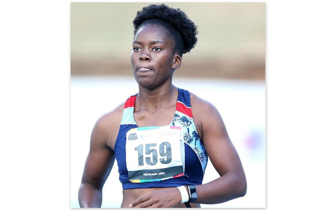 Reabetswe Moloi is New SA 100m National Champ