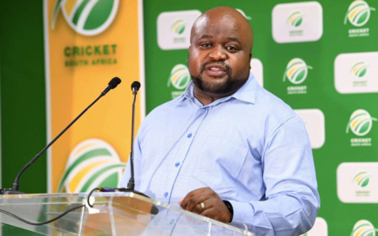 Cricket South Africa's Head of Cricket Pathways, Edward Khoza, has played a vital role in advancing the women's side of the game from provincial to national level. Photo: Supplied
