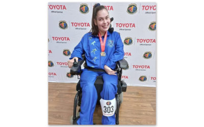 Elanza Jordaan Wins Boccia Gold at Toyota SASAPD Champs