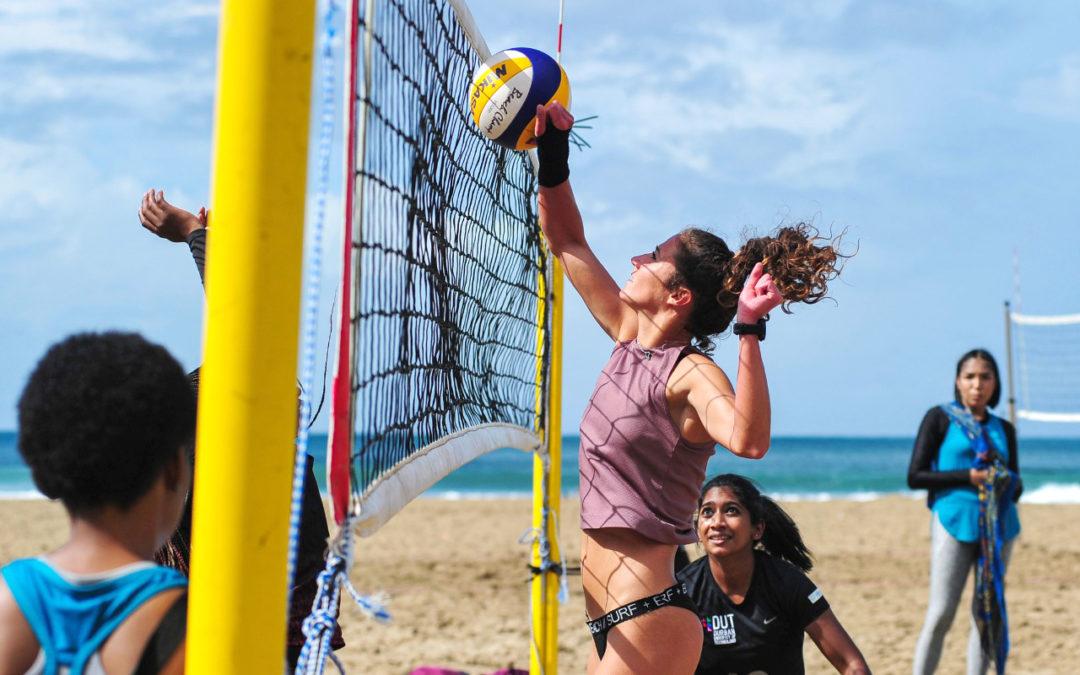 Moodley and Wiesheryr Win Beach Volleyball Tour Final