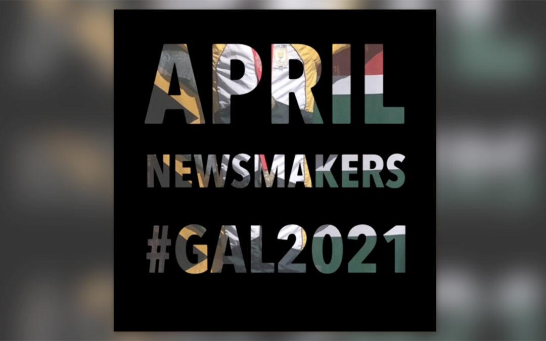 Para Sport Headlines April Newsmakers List