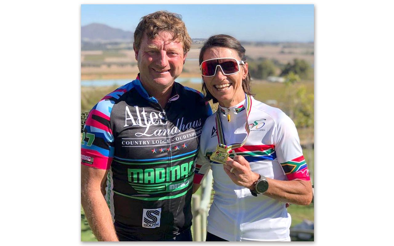 """Elite SA XCM champion"" says it all, coming from 2021 Women's South African Cross-Country Marathon Champion, Yolande de Villiers. Photo: Yolande de Villiers / Instagram"