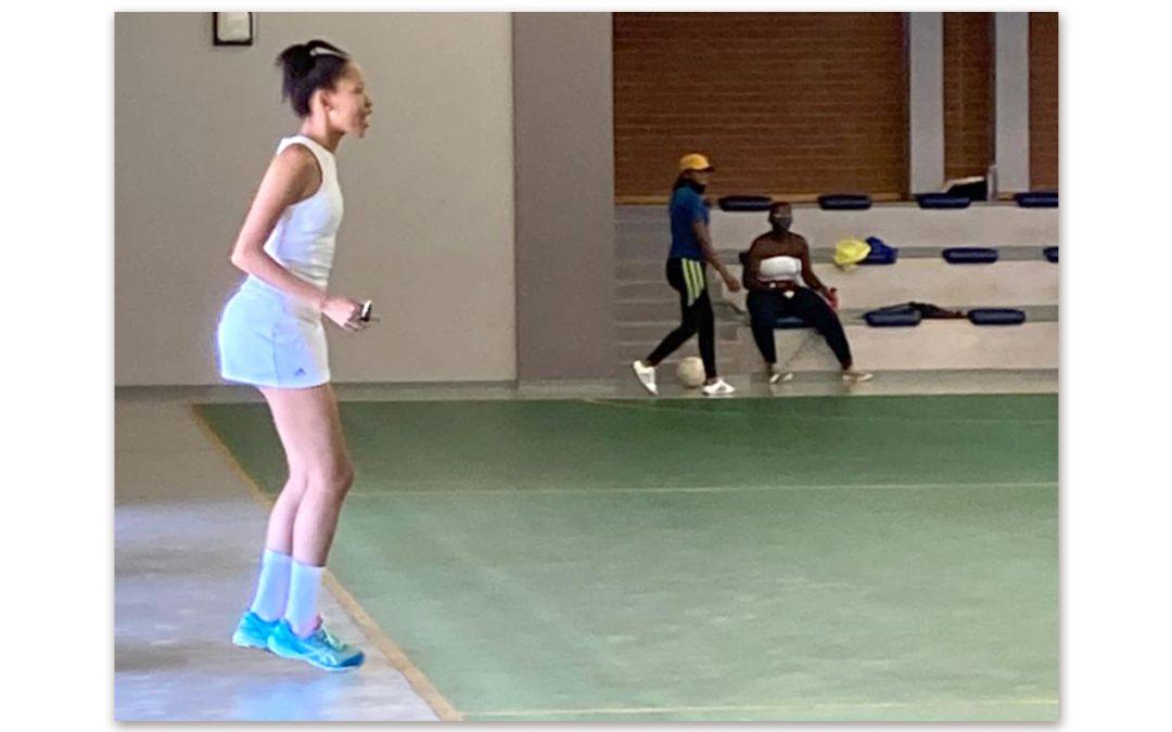 Netball Umpire Kgalalelo Morwe's Rising Star