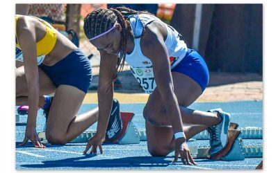 Phindile Khubeka Storms to Victory in USSA Women's 100m Final
