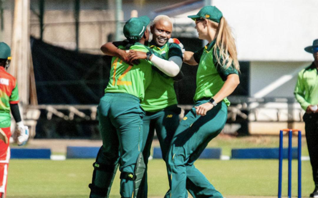 SA Emerging Secure 2-0 Series Lead Over Zimbabwe