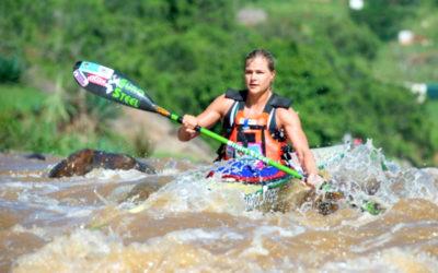 Bridgitte Hartley Shines on SA Canoe Marathon Champs Day 1