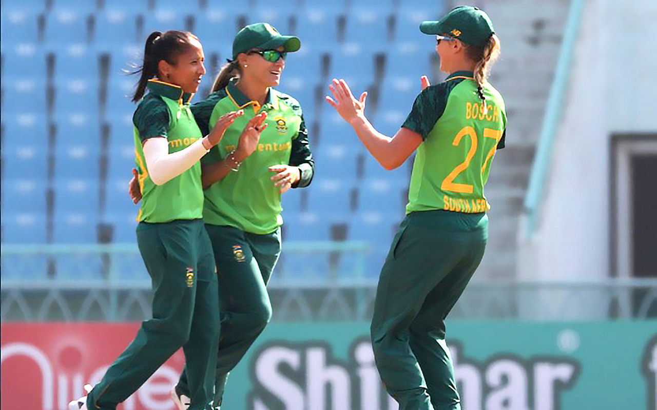 Cricket South Africa gave due recognition to its leading women's players who have kept the flag flying during extremely difficult Covid-19 times with the announcement of the nominations for the annual CSA Awards. Photo: Cricket South Africa (Twitter)