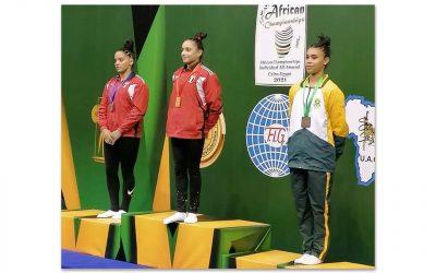 Naveen Daries and Caitlin Rooskrantz Make SA Gymnastics History