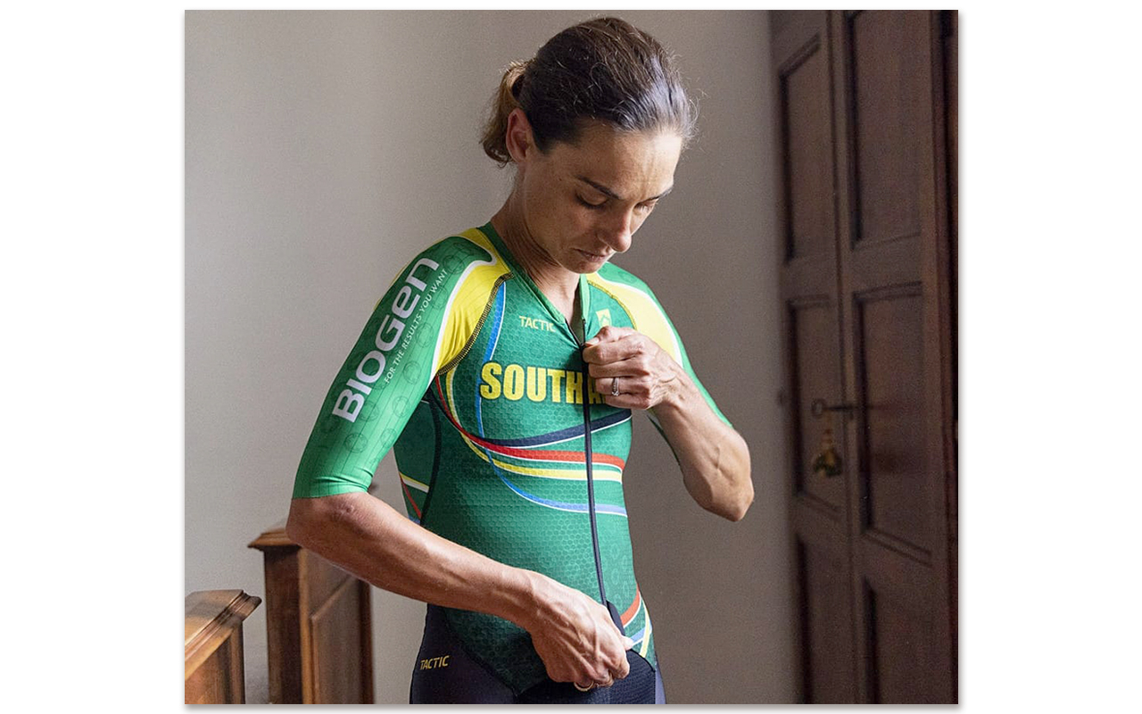 South Africa's Olympic-bound cyclist, Ashleigh Moolman-Pasio, believes the Olympic Games is a chance for athletes to inspire people around the world, especially with the current Covid-19 pandemic continuing to spread across communities. Photo: Ashleigh Moolman-Pasio (Facebook)