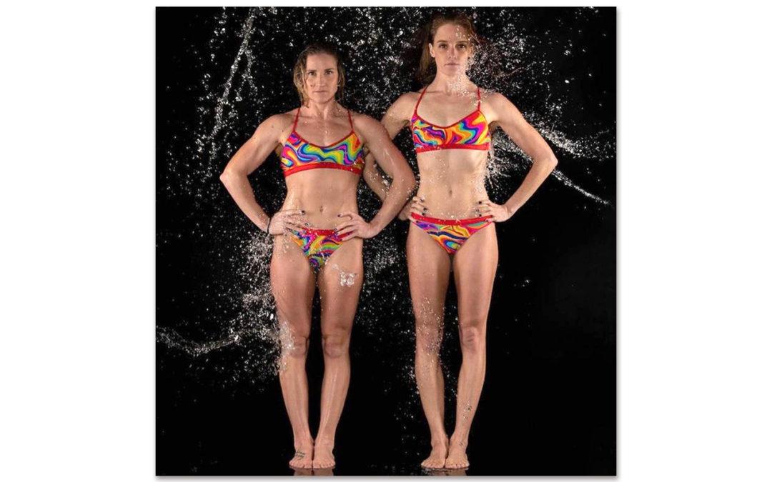 Strugnell and Johnston Raising the Profile of SA's Artistic Swimming