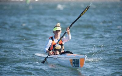 Saskia Hockly Clinches Bay Surfski Race Title
