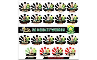 SA Women's Hockey Team Prepare for Olympics Participation