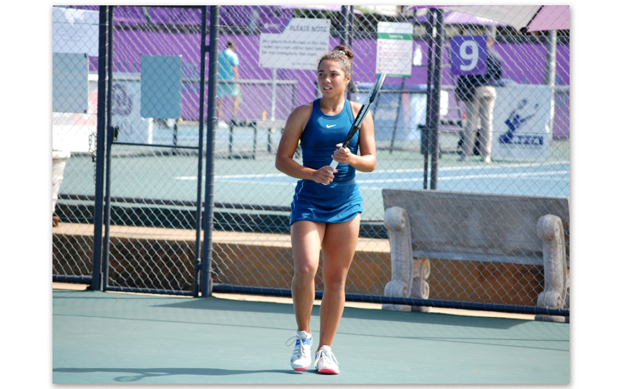Young South African tennis star, Kelly Arends, has been included in an exciting five-member national team that will represent the country at the Billie Jean King Cup Europe/Africa Group III tournament to be held in Vilnius, Lithuania between 15-19 June 2021. Photo: NWU (Twitter)