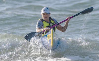 Nikki Birkett Scoops Scottburgh to Brighton Surfski Title