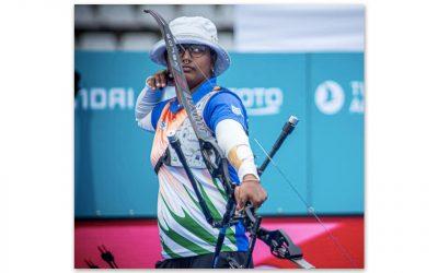 India's Deepika Kumari Completes Historic Triple Archery Gold