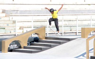 Skateboard Sensation Boipelo Awuah Excited Ahead of Olympic Debut